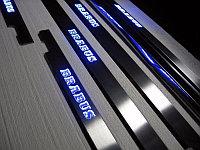 Пороги с подсветкой BRABUS для Mercedes Benz G-class