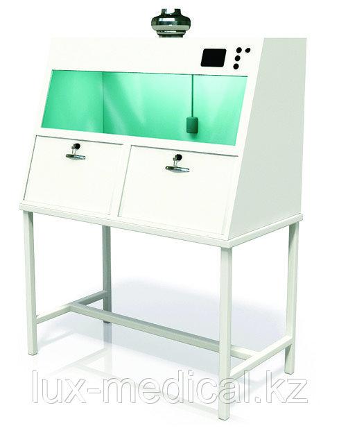 Шкаф вытяжной, универсальный   2-х секционный ШВ-02