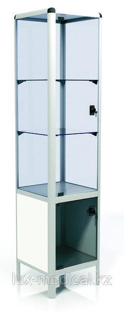 Шкаф медицинский металлический, с замком для лекарственных препаратов  ШМ-02