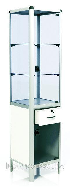Шкаф медицинский с одним выдвижным ящиком ШМ-04