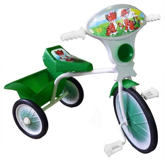 Велосипед трехколесный мод. 527-501-05 (с кузовом) 05