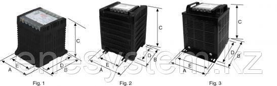 Трансформаторы контроля однофазные изолирующие серии Р