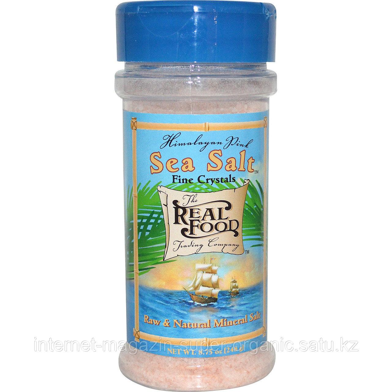 Гималайская розовая соль, 248 гр, баночка-солонка (Gimalayan pink Sea Salt)