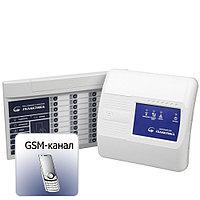 Галактика ЦБ GSM + БИУ-Р2 прибор приемно-контрольный с поддержкой GSM