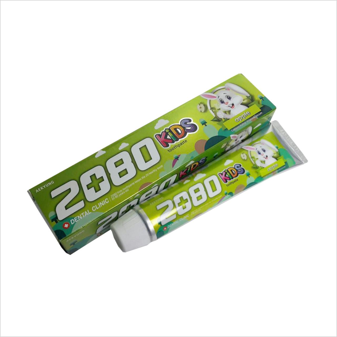 "Dental Clinic 2080 Toothpaste for Children Apple Детская зубная паста ""Яблоко"" 80 гр"