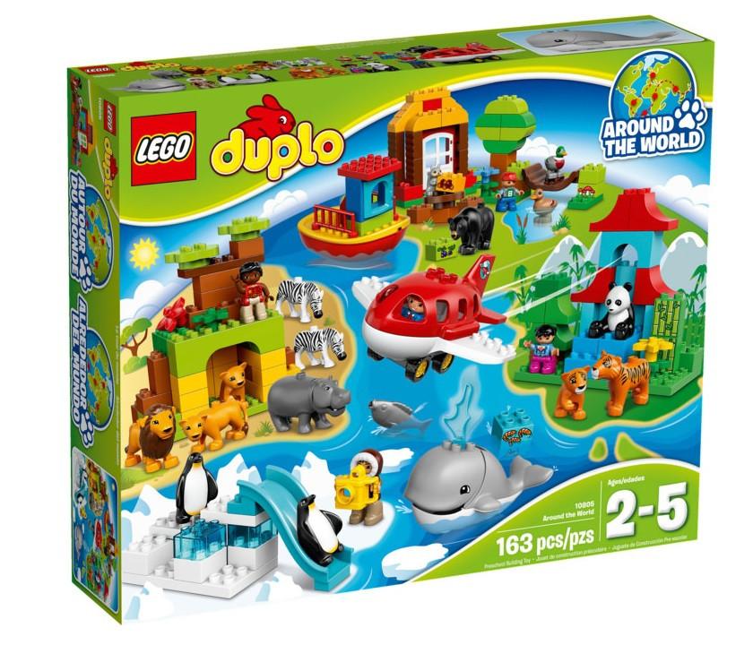 10805 Lego Duplo Вокруг света: В мире животных, Лего Дупло