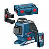 Линейный лазерный нивелир (построитель плоскостей) Bosch GLL 2-80 P + BM1 (новый) + LR2 в L-Boxx