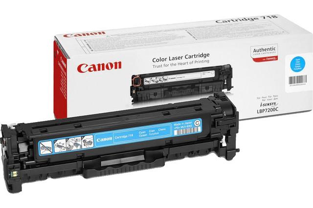 Заправка картриджей Canon LBP-7200/MF-8330(718Bk,718C,718M,718Y)
