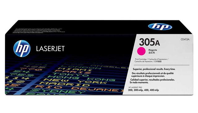Заправка картриджей HP 410X,411A,412A,413A