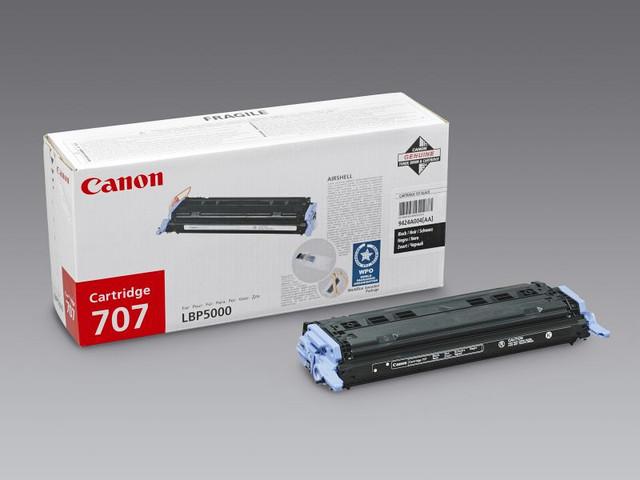 Заправка картриджей 707Bk,707С,707M,707Y для Canon LBP5000/5100