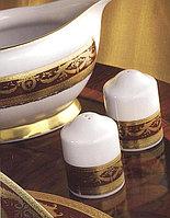Цептер Фарфор Империал Голд -Бордо столовый сервиз на 12 персон