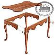 План столика Fine Woodworking Porringer-Top Tea Table Plan, фото 3