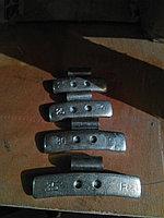 Грузик балансировочный 25 гр. для стальных дисков 100 шт.