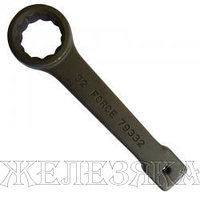 FORCE Ключ накидной прямой под вороток 46мм чёрный