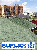 Гибкая черепица RUFLEX Sota (Зеленый базелик), SBS (СБС) модифицированная т+7(707) 5705151