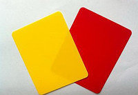 Судейские карточки для футбола, фото 2