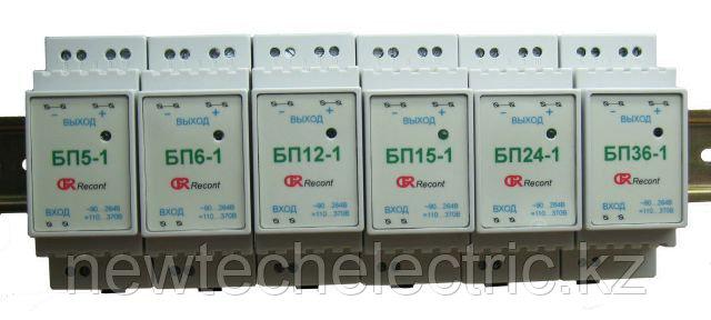 1-канальный блок питания 18Вт: импульсные на DIN-рейку