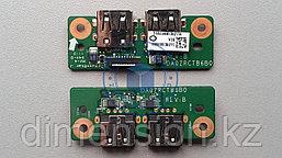 USB плата, порт, разъем DA0ZRCTB6B0 Emachines E732 Acer Travelmate 7520 7220