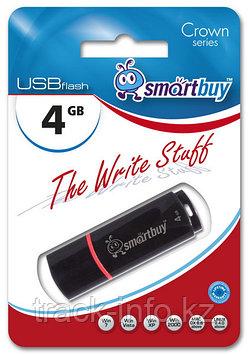 Флеш-накопитель Smartbuy 4GB Crown Black