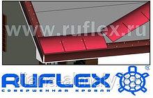 Коньково карнизная плитка для гибкой битумной черепицы RUFLEX (Руфлекс)