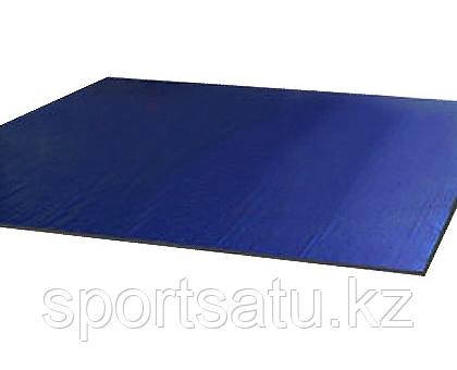 Ковер борцовский одноцветный 4 х 4 м с покрышкой, толщина 3 см