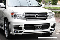 Обвес Luv-Line от MzSpeed на Toyota Land Cruiser 200 РЕСТАЙЛИНГ, фото 1
