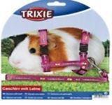 Trixie 6264 Шлейка с поводком для грызунов (для морских свинок) 21-35cm/ 10mm
