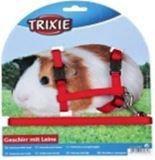 Trixie 6261 Шлейка с поводком для грызунов (для морских свинок) 21-35cm/ 10mm, фото 1