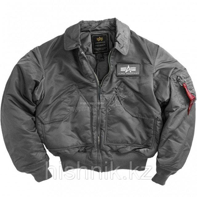 Куртка Alpha CWU-45р black  весна / осень
