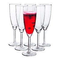 СВАЛЬК Бокал для шампанского, прозрачное стекло