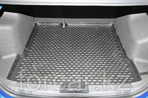 Коврик Novline в багажник CHEVROLET Aveo, 2012->, седан (полиуретан)
