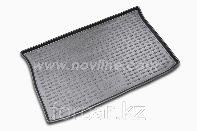 Коврик Novline в багажник CHEVROLET Spark 2010-> (полиуретан), фото 2