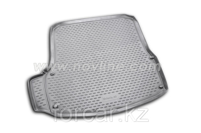 Коврик Novline в багажник Skoda Octavia A7 2013->  (полиуретан), фото 2