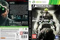 Tom Clancy`s Splinter Cell: Blacklist [2dvd]
