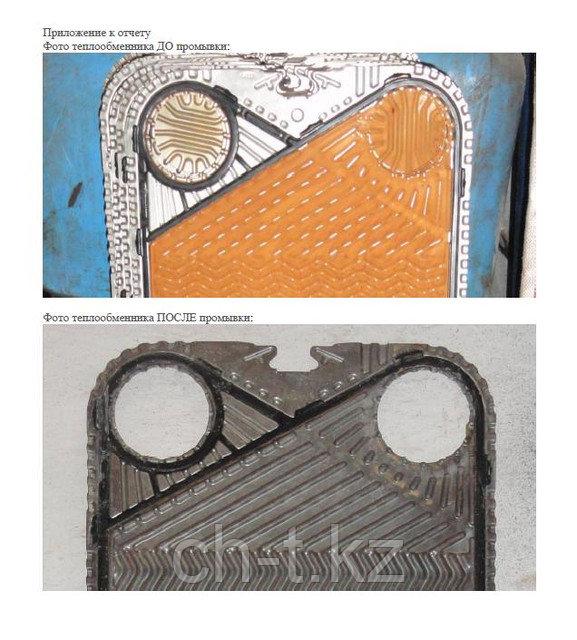 Glanz™ Вариант 2 для прочистки теплообменного оборудования