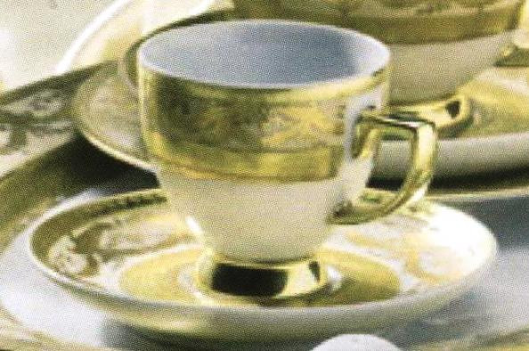 Цептер Фарфор Роял Голд креме дополнительные наборы. Чашки для ESPRESSO