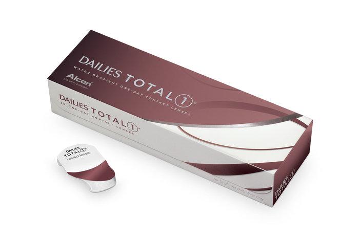 Однодневные линзы Dailies Total 1 (30 блистеров)