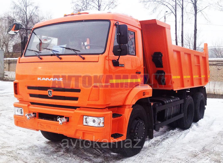 Самосвал КамАЗ 65115-6058-23 (Сборка РК, 2014 г.)