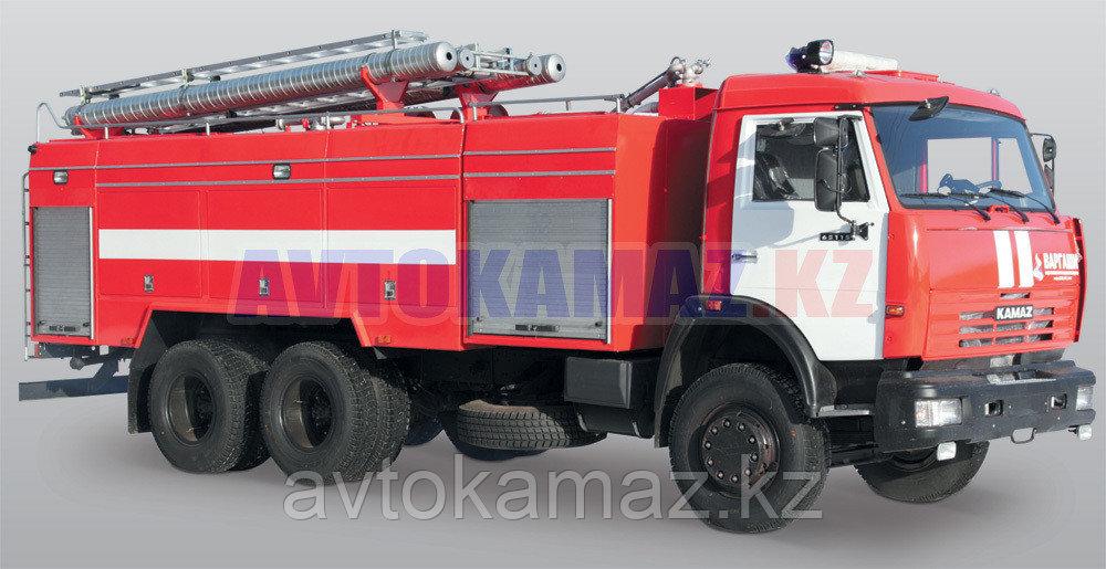Автоцистерна пожарная КамАЗ АЦ 8.0-40 (Сборка РФ, 2012 г.)