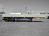 Бортовой полуприцеп Нефаз 9334-20-01 (2015 г.), фото 2