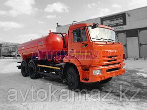 Вакуумная машина КамАЗ КО-505А-01 (2016 г.)