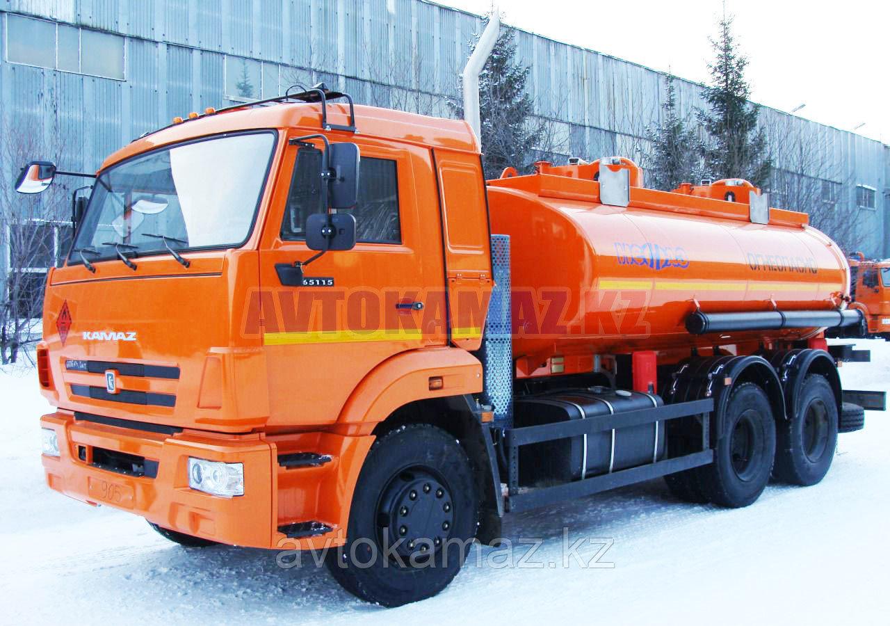 Топливозаправщик КамАЗ 6606-2211-А4 (2016 г.)