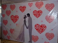 Пресс тена на свадьбу