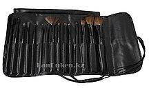 Кисти для макияжа MAC в чехле, набор для макияжа (15 штук)
