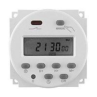 Реле времени 220 В (питание 220 В) программируемый недельный таймер на 17 программ, фото 1