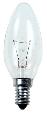 Лампочка 40W E14 свеча