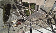 Входная группа из квадратной нержавеющей стали, фото 3