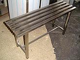Скамейки из нержавеющей стали, фото 2