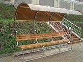 Скамейки из нержавеющей стали, фото 3