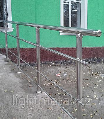 Ограждения из нержавеющей стали для пандусов, фото 2